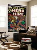 Marvel Comics Retro: Luke Cage, Hero for Hire Comic Book Cover No.11 (aged) Wall Mural