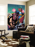 Excalibur No.13 Cover: Dr. Strange, Magneto and Professor X Wall Mural by Aaron Lopresti