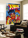 X-Men No.51 Cover: Erik The Red, Cyclops, Angel, Iceman and X-Men Wall Mural by Arnold Drake
