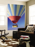 Hot Air Balloon Wall Mural by Dallas Stribley