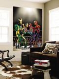Spider-Girl No.81 Cover: Spider-Girl, Spider-Man, Electro and Aftershock Wall Mural by Ron Frenz