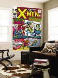 X-Men No.9 Cover: Lucifer Wall Mural by Jack Kirby