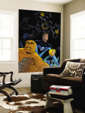 Fantastic Four Tales 1 Group: Black Panther, Mr. Fantastic, Invisible Woman and Thing Wall Mural by Michael OHare