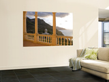 Terrace of Son Marroig Mansion and Gazebo at Sunset Wall Mural by Holger Leue