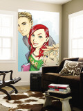 Mary Jane 1 Cover: Watson and Mary Jane Wall Mural by Takeshi Miyazawa