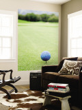 Large Golf Ball Indicates Tee-Off Point Wall Mural by Paul Dymond