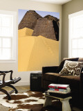 Meroe Pyramids in Sand Wall Mural by Anthony Ham