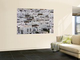 Whitewashed Buildings Wall Mural by Karl Blackwell