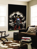 Ultimate Human No.4 Cover: Iron Man and Hulk Premium Wall Mural by Cary Nord