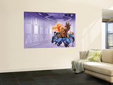 Marvel Adventures Fantastic Four 0 Cover: Mr. Fantastic Wall Mural by Scot Eaton