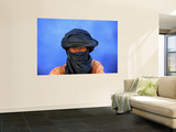 Portrait of Man of the Tuareg Tribe Wall Mural by Frans Lemmens