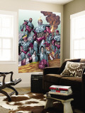 Sentinel Squad O*N*E No.1 Group: Sentinel Wall Mural by Aaron Lopresti