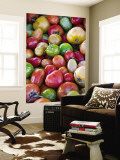 Red, Yellow and Green Tomatoes Wall Mural by Ray Laskowitz