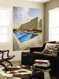 Swimming Pool, Sheraton Aleppo Hotel Wall Mural by Holger Leue