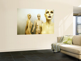 Female Mannequins Wall Mural by Oliver Strewe