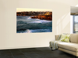 Entrance to Tamarama Bay to Bronte and Nelson Bay, Sunrise Wall Mural by Ross Barnett