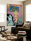 Marvel Comics Retro: My Love Comic Book Cover No.2, Crying and Dancing (aged) Wall Mural