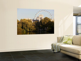 London Eye from Green Park Wall Mural by Doug McKinlay