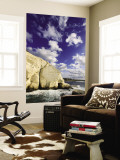White Cliffs at Rosh Hanikra Wall Mural by Hanan Isachar