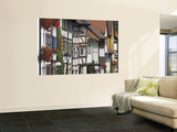 Half-Timbered Facades Wall Mural by Aldo Pavan