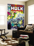 Incredible Hulk No.337 Cover: Hulk, Cyclops, Grey, Jean, Iceman and X-Factor Wall Mural by Todd McFarlane