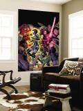 Uncanny X-Men No.463 Cover: Marvel Girl, Psylocke, Juggernaut, Blob, Banshee and Callisto Crouching Wall Mural by Alan Davis