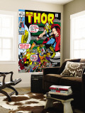 Thor 181 Cover: Thor and Balder Wall Mural by Neal Adams