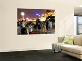 Night on the Bund Promenade Wall Mural by Greg Elms