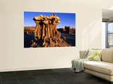 Sand Tufa Formation Near Mono Lake Wall Mural by John Elk III