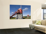 Windmills Wall Mural by Holger Leue