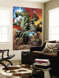 World War Hulk: Gamma Corps No.3 Cover: Hulk Wall Mural by Stephane Roux
