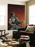 Fury Peachmaker 2 Cover: Nick Fury Wall Mural by Mark Texeira