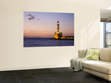 Venetian Lighthouse at Entrance to Hania Harbour Wall Mural by Gareth McCormack