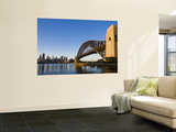 Sydney Harbour Bridge from Milson's Point Wall Mural by Greg Elms