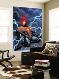 Crimson Dynamo 6 Cover: Crimson Dynamo Wall Mural by Joe Corroney
