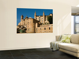 Walled Town of Urbino from Via Raffaello Wall Mural by Frank Wing