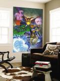 Marvel Team-Up No.11 Cover: Hulk, Wolverine, Dr. Strange and Nova Wall Mural by Paco Medina