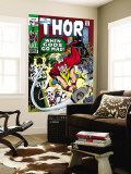 Thor No.180 Cover: Thor Wall Mural by Neal Adams