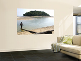 Secluded Beach on Northern Coast Wall Mural by Austin Bush