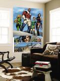 Uncanny X-Men No.463 Group: Captain Britain, Psylocke, Marvel Girl and Meggan Wall Mural by Alan Davis