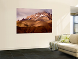 Sunset on Mountains Wall Mural by Stephane Victor