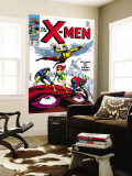 X-Men No.49 Cover: Angel, Iceman, Cyclops, Grey, Jean, Beast, X-Men and Marvel Girl Wall Mural by Werner Roth