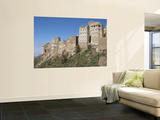 Old Stone Tower Houses Perched on Hilltop Wall Mural by Craig Pershouse