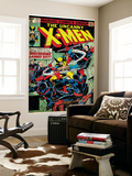 Marvel Comics Retro: The X-Men Comic Book Cover No.133, Wolverine Lashes Out (aged) Wall Mural