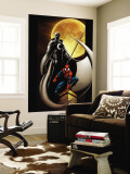 Ultimate Spider-Man No.80 Cover: Spider-Man and Moon Knight Wall Mural by Mark Bagley