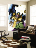 Drax The Destroyer No.2 Cover: Thanos and Drax The Destroyer Wall Mural by Mitchell Breitweiser