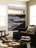 Kona Coastline, Island of Hawaii, USA Wall Mural by Savanah Stewart