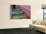 Colourful Stairway in Cerro Concepcion Wall Mural by Brent Winebrenner
