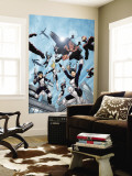 New X-Men No.16 Group: Hellion, Moonstar, Quill, Surge, Synch and Wind Dancer Wall Mural by Aaron Lopresti