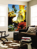 Fantatic Four: House Of M No.1 Cover: Fantastic Four Wall Mural by Scot Eaton